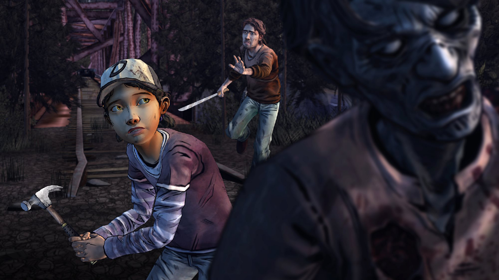 Striking out on her own in the game's second season, Clementine is an extremely resilient and pragmatic survivor. Be sure to try and pass on some good instincts when you play!