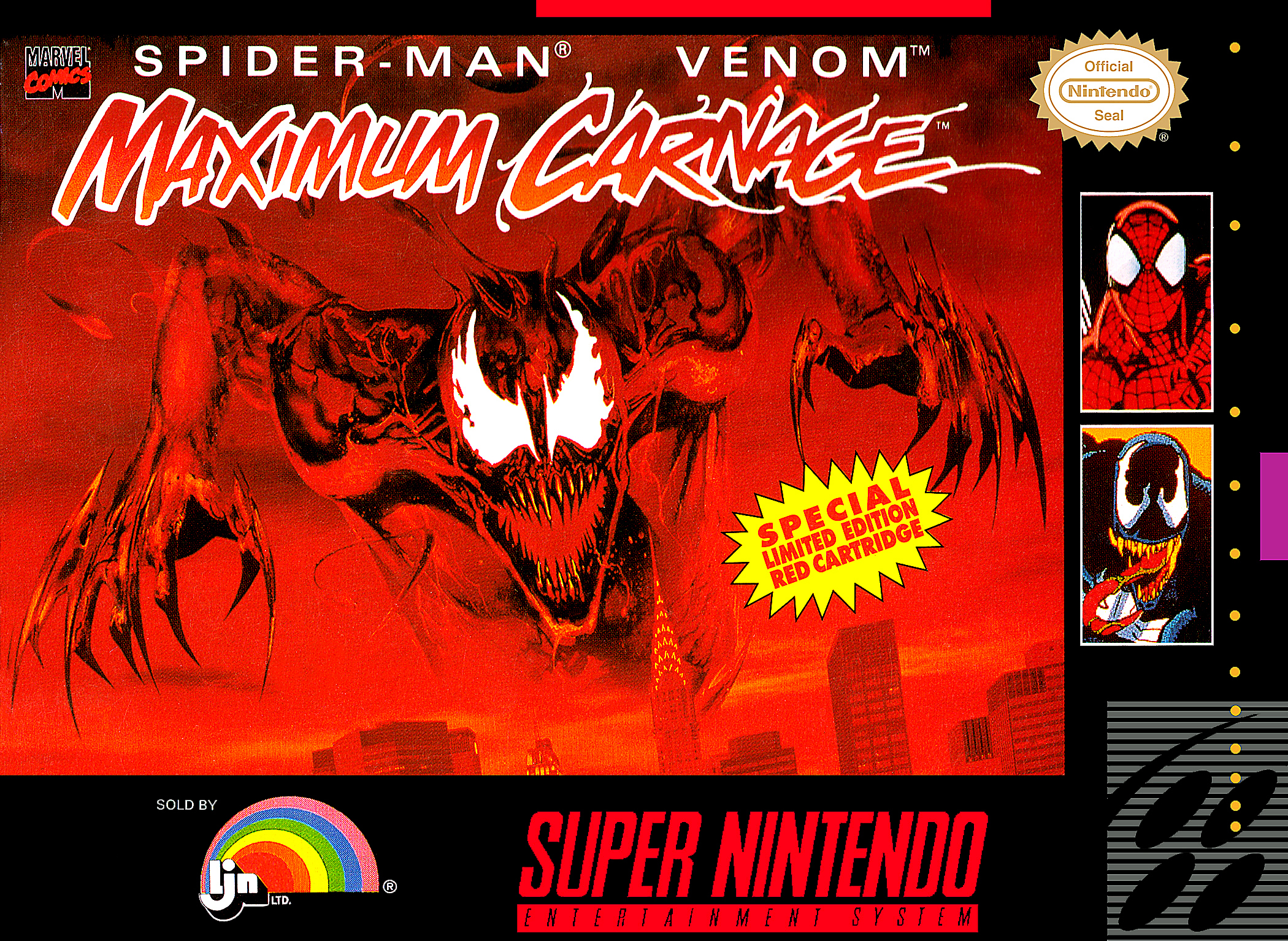 A transformative comic book video game experience for its time, it's very difficult to get any more authentic in 1990's comic book gaming than with  Maximum Carnage .