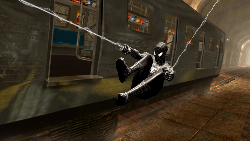 Even with the black suit at your disposal,  Spider-Man 3  feels generally clunkier and far more haphazard than its predecessors.