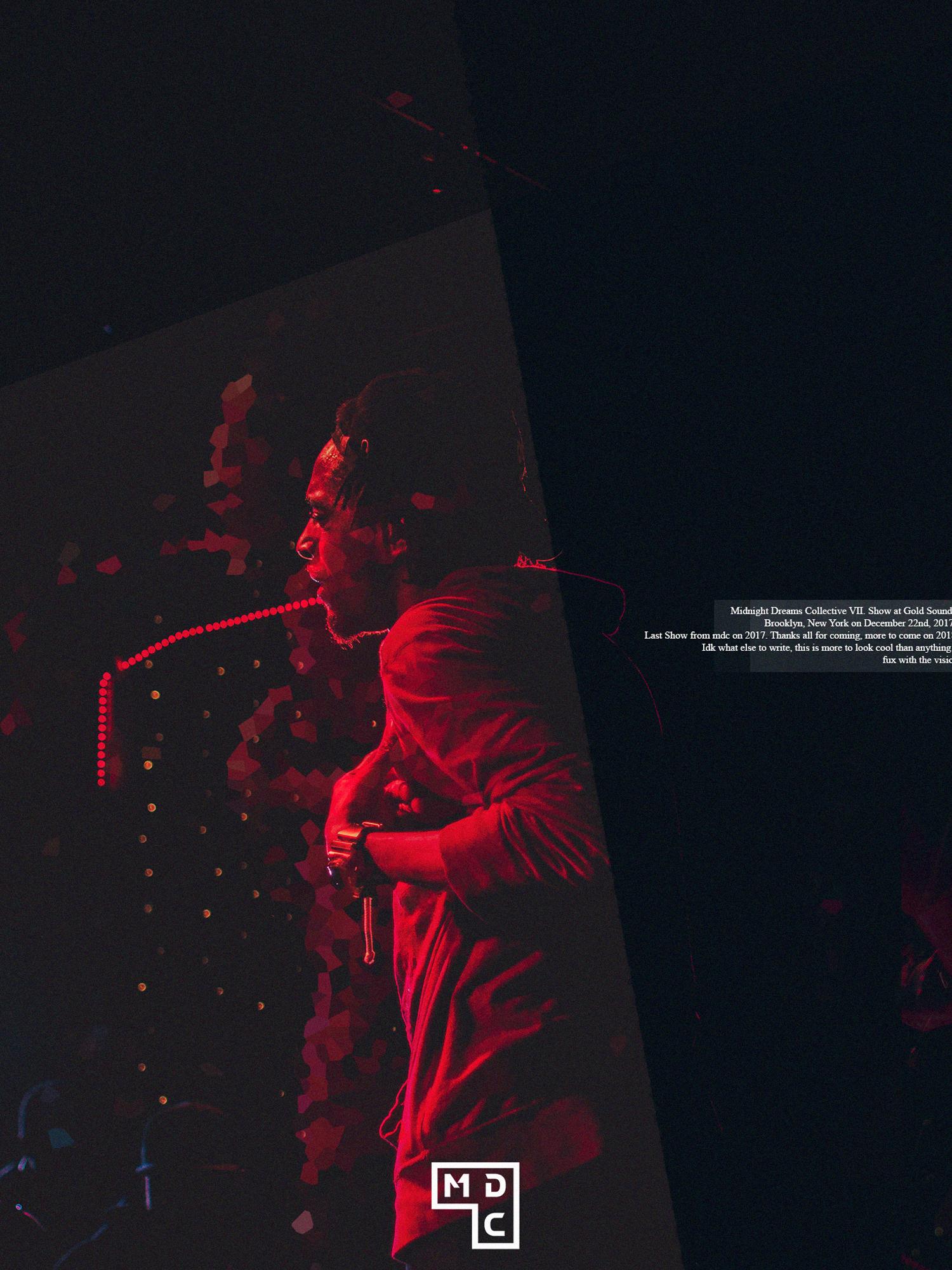 Gold Sounds x Midnight Dreams Collective • i • sa  Brooklyn, NY. Dec. 22, 2017  • Model:  OGWN   • Photo/ Edit by Seven AM