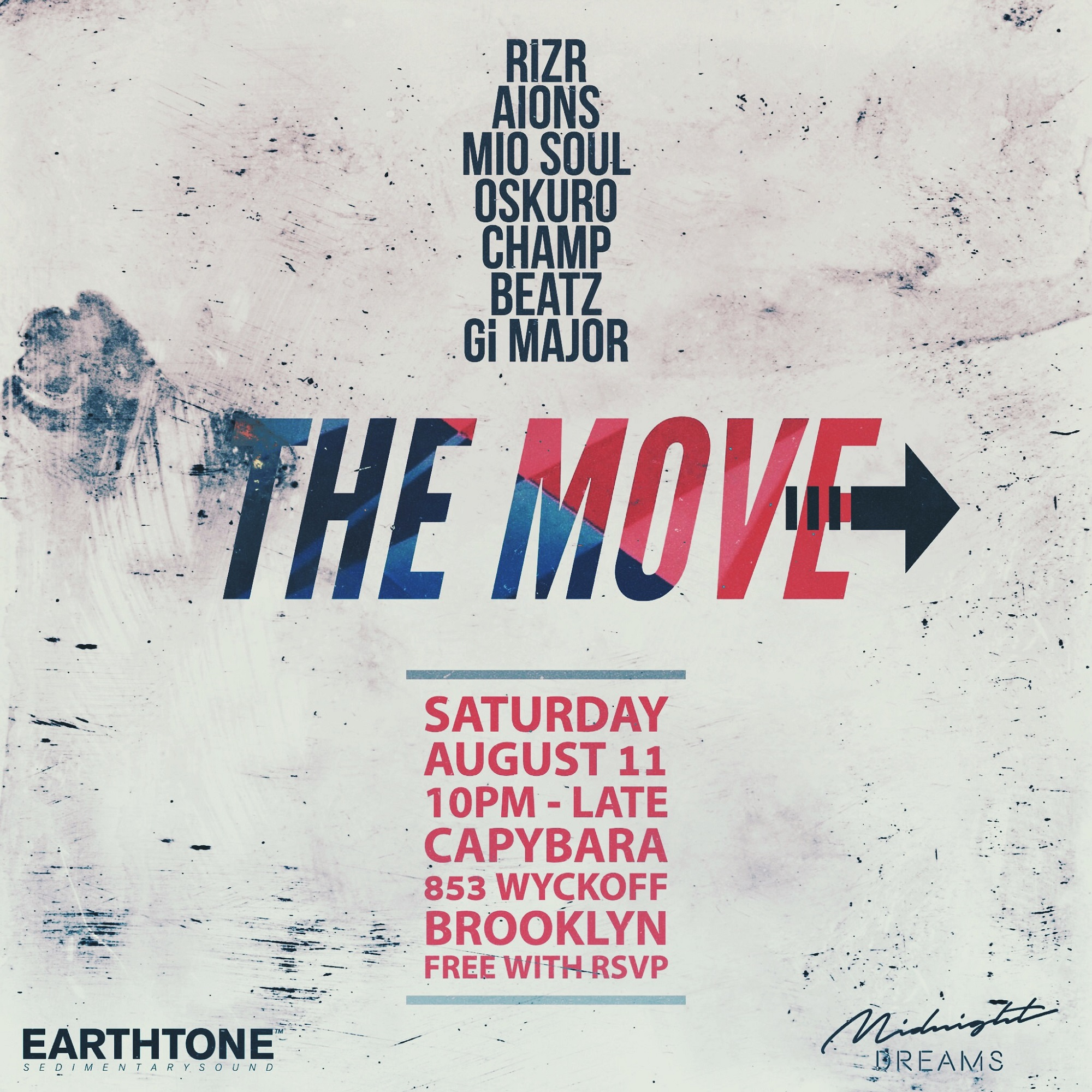 The Move - EarthTone & Midnight Dreams