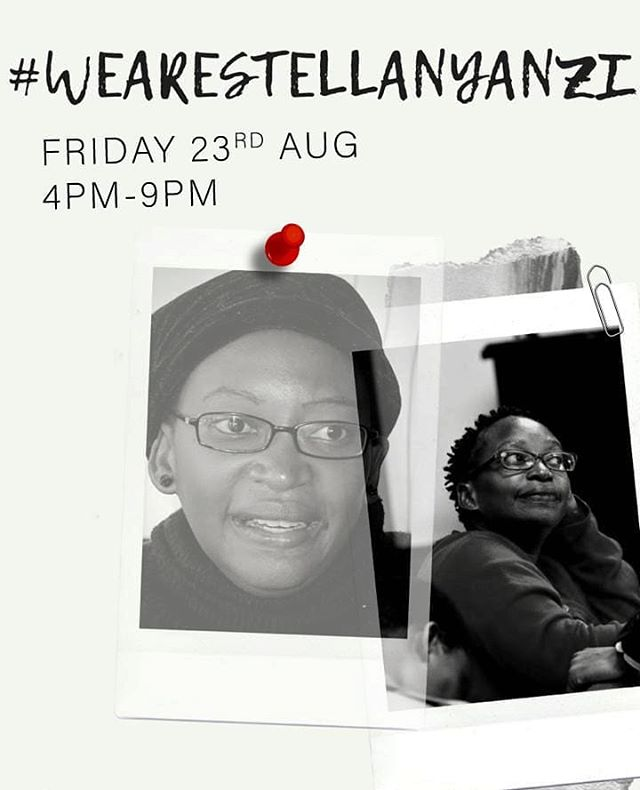 We will be at the #WeAreStellaNyanzi solidarity event @pawa254 this Friday from 4 pm to 9 pm!  The event is to celebrate the work and life of Dr. Stella Nyanzi, who is currently behind bars in #Uganda for insulting President Yoweri Museveni.  Alongside poetry readings and performances, the event organizers are fundraising $$ to go directly to Dr. Stella Nyanzi and family.  Come to the event or donate directly to the fundraiser in the #linkinbio  #FreeStellaNyanzi