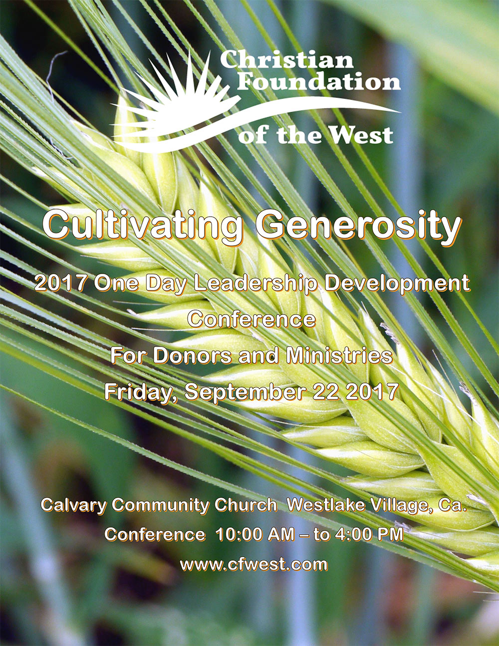 Click photo for PDF of Conference Program