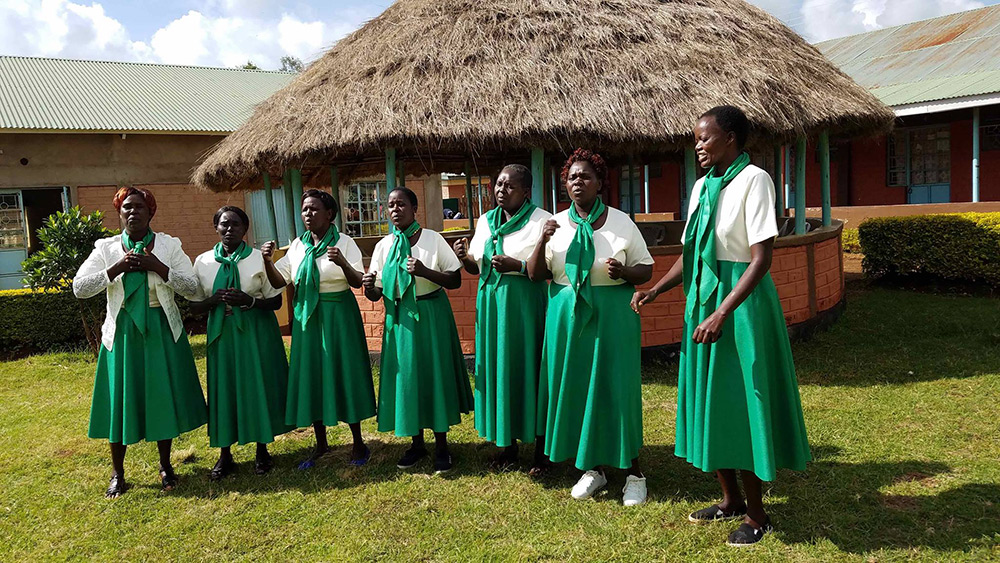 Empowering Lives International - Providing life skills for these women who are no longer brewing and selling illegal alcohol