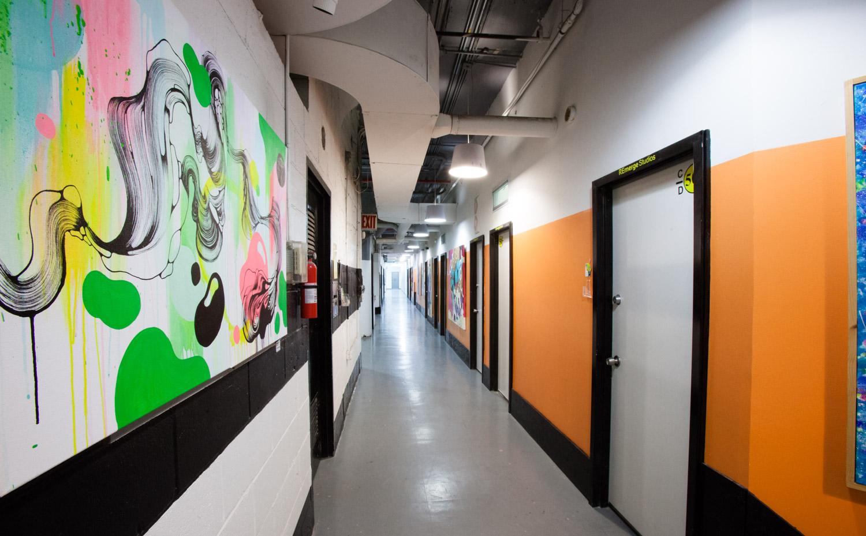 b[x]1 Hallway and Studios