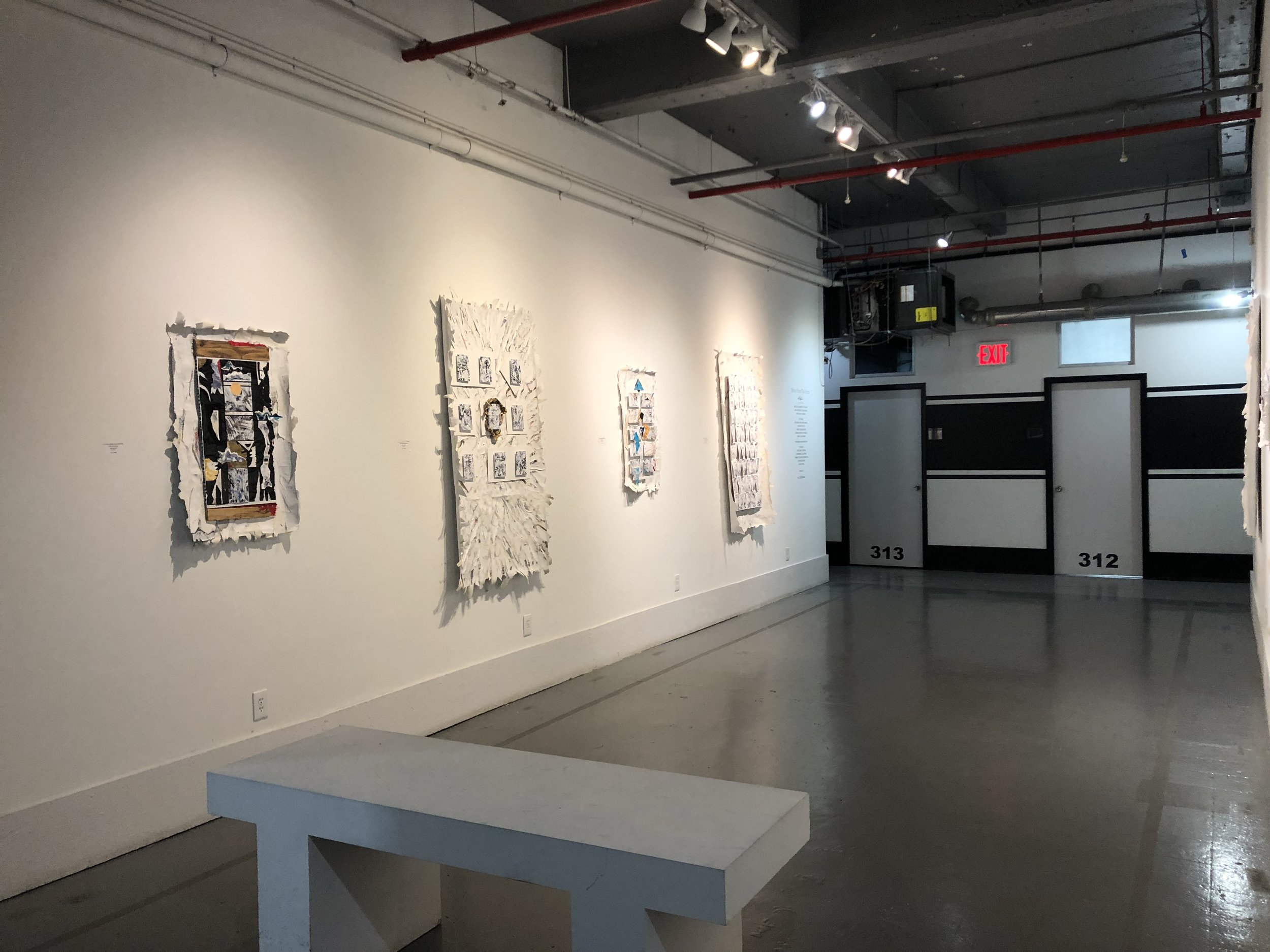 b[x] spaces gallery with a rotation of featured exhibitions