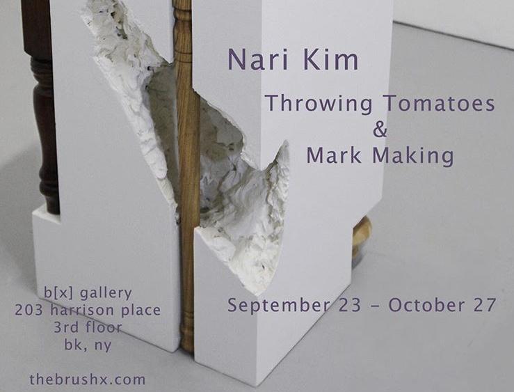 Throwing Tomatoes & Mark Making - September 23, 2017