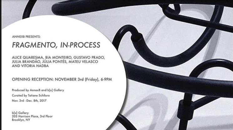Fragmento, In-Process - November 3, 2017