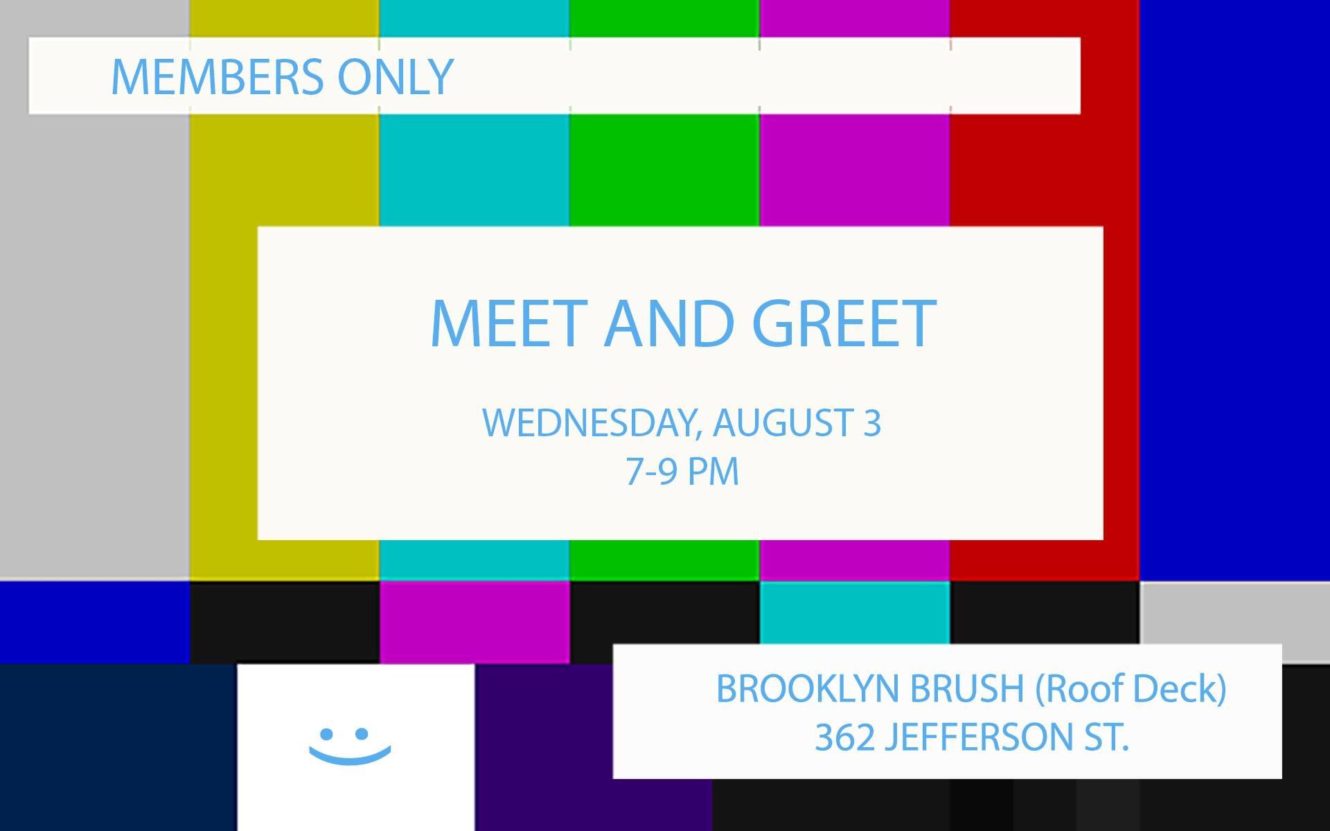 Rooftop Meet & Greet - August 3, 2016