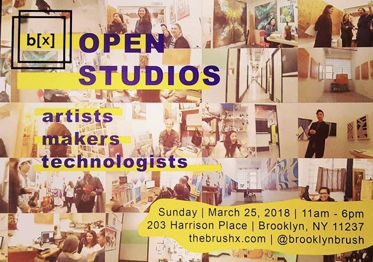 b[x] Open Studios - March 25, 2018