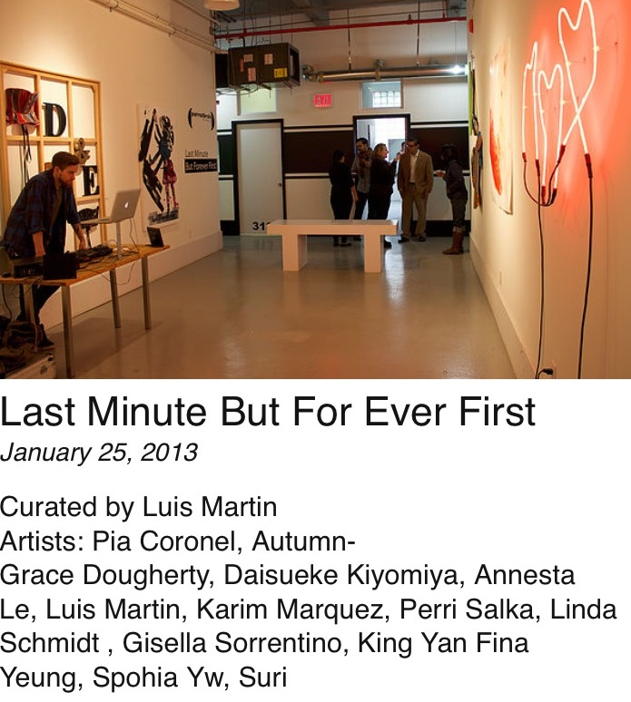 Last Minute But Forever First - January 25, 2014
