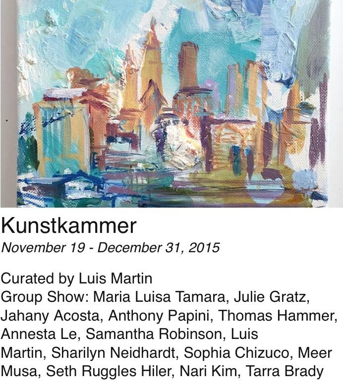 Kunslkammer - November 19, 2015