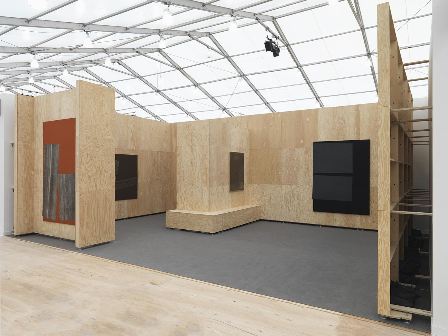 Sam Moyer Frieze Booth