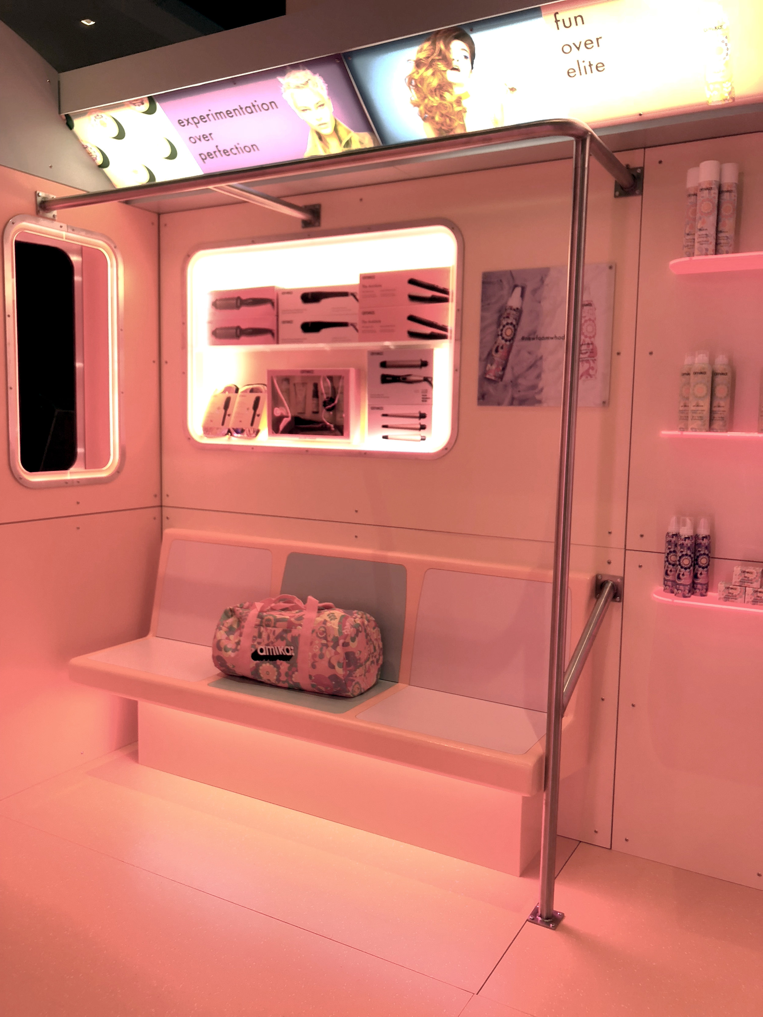Amika - Subway Car Pop-Up