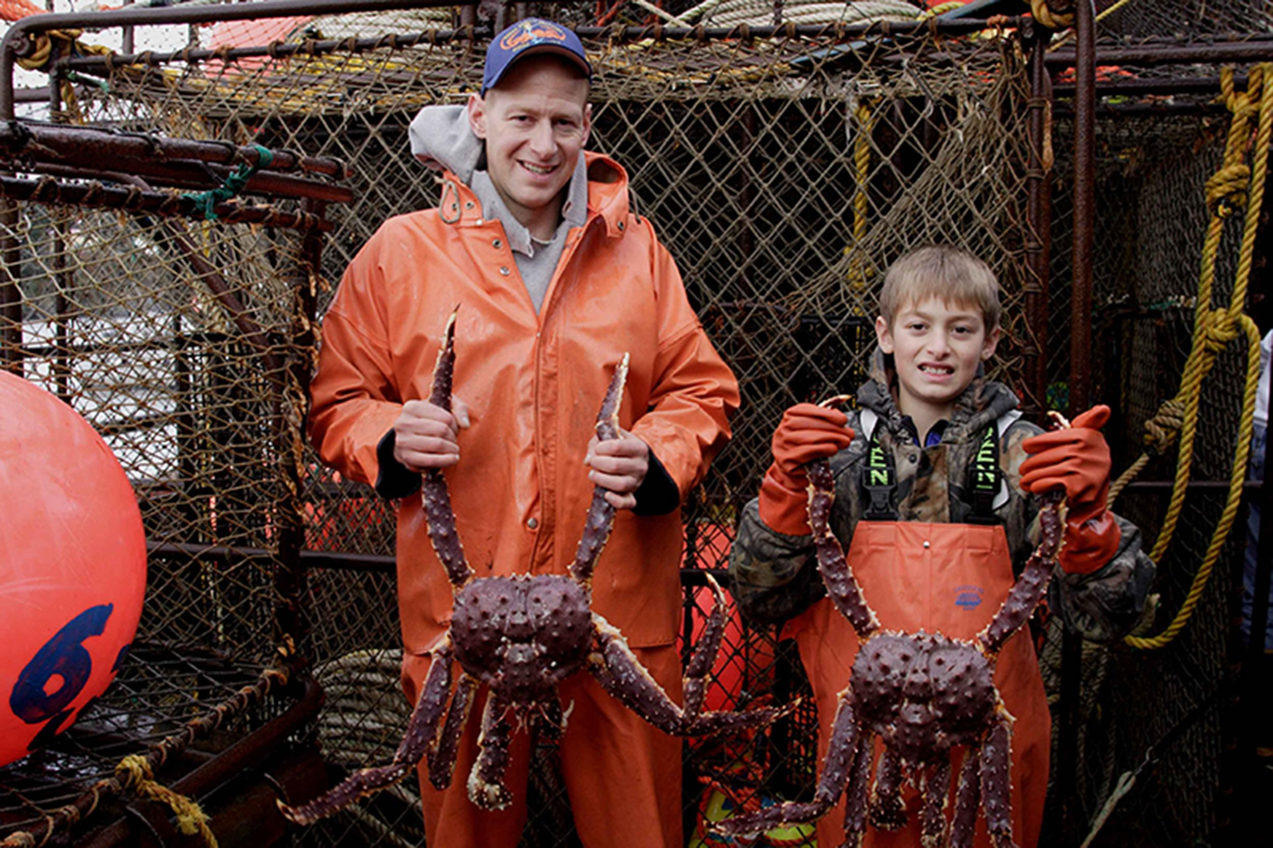 King Crabs are a family affair