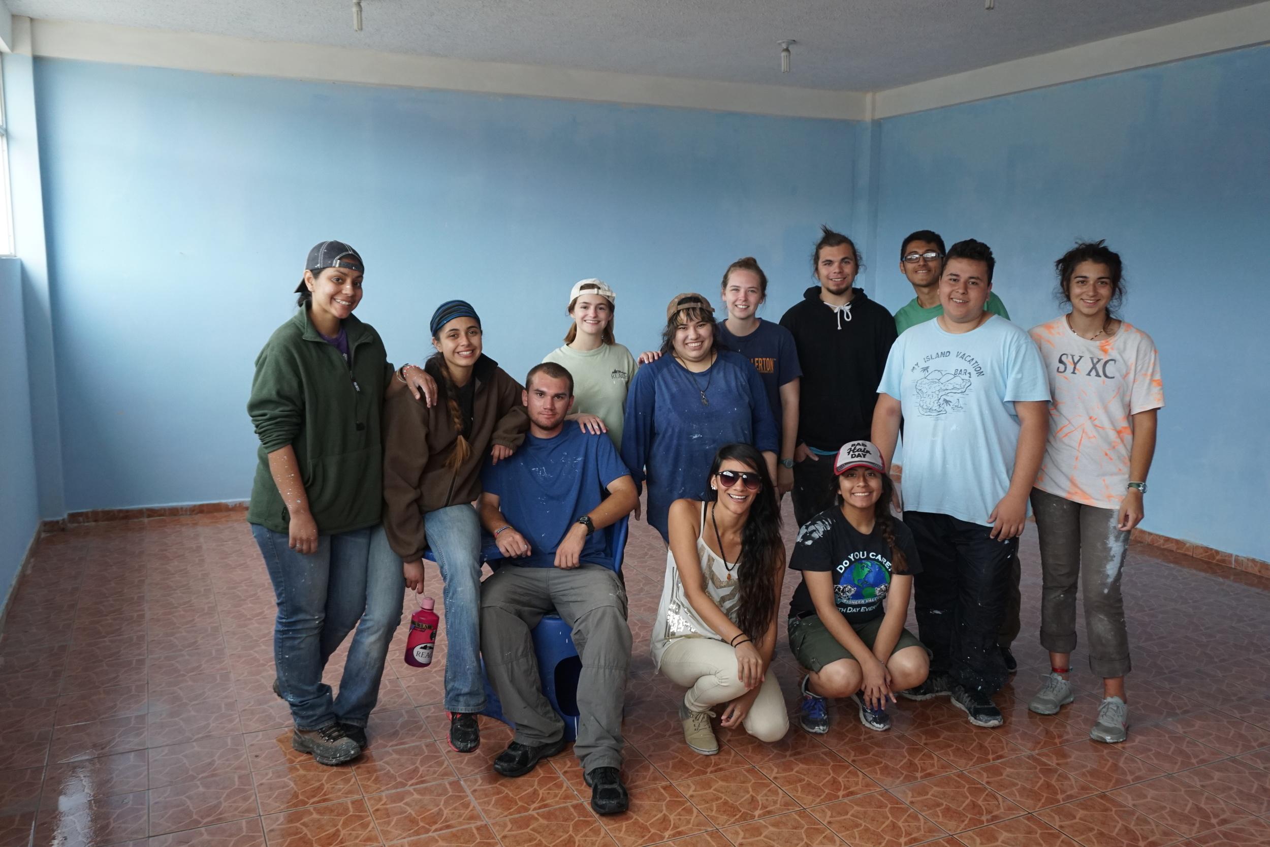 Proud painters