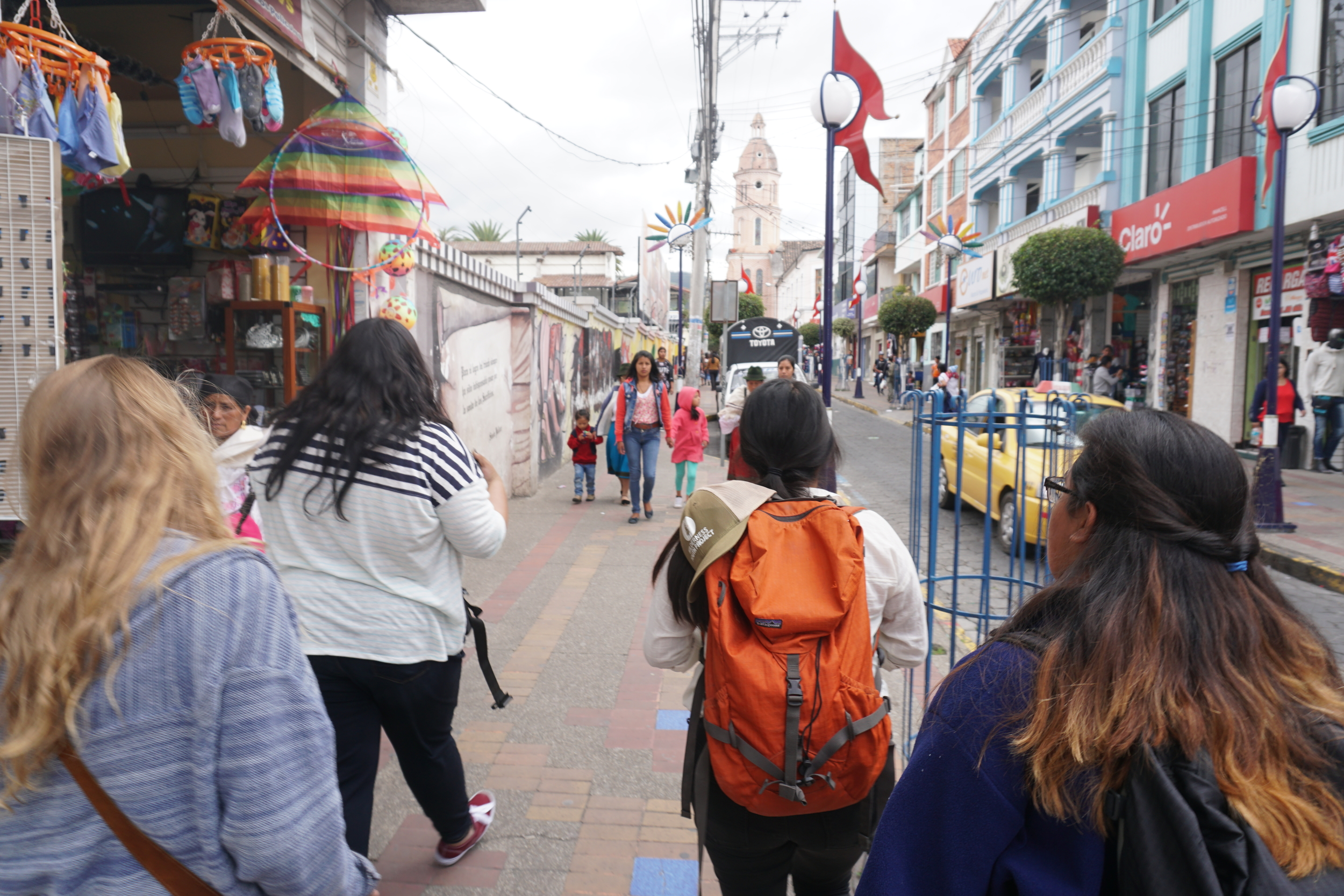 Exploring Otavalo