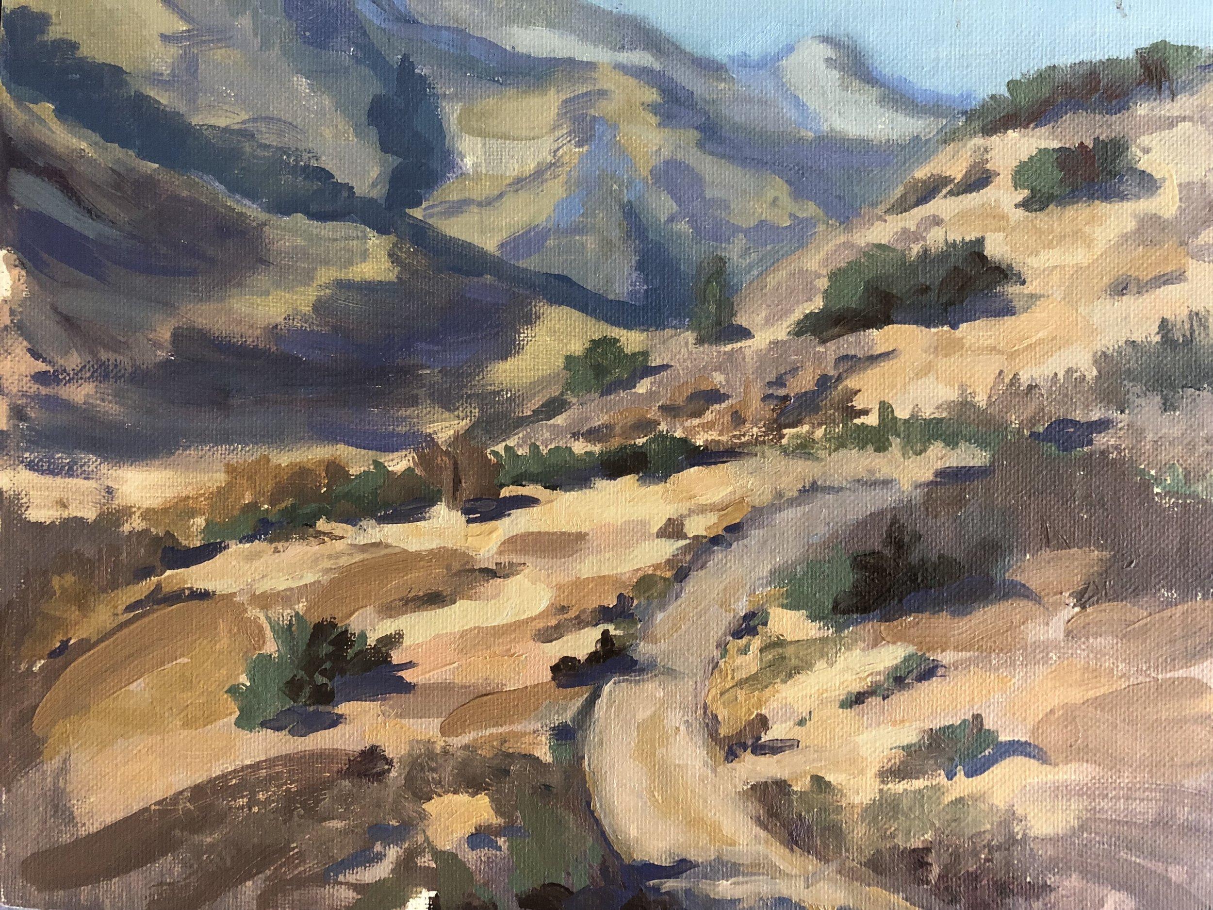 Santiago Canyon Path