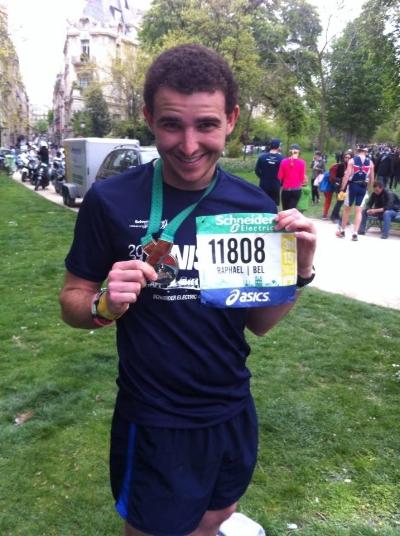 Paris Marathon 2013 - First marathon! 3:15:30