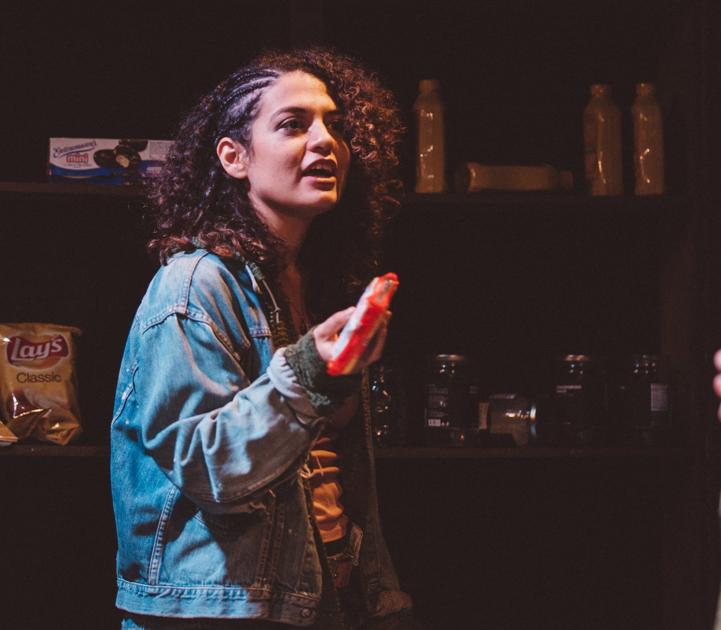 Box Collective Presents - Hurricane Sleep at IATI THEATRE / Character - Ome/ Photo Credit - Quincy Ledbetter