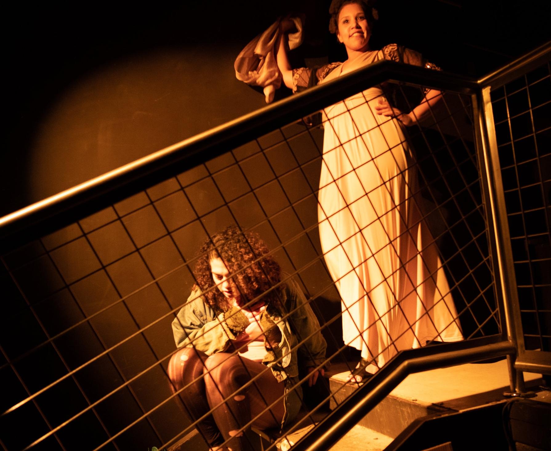 Box Collective Presents - Hurricane Sleep at IATI THEATRE / Character - Ome/ Photo Credit - Yuki Ledbetter