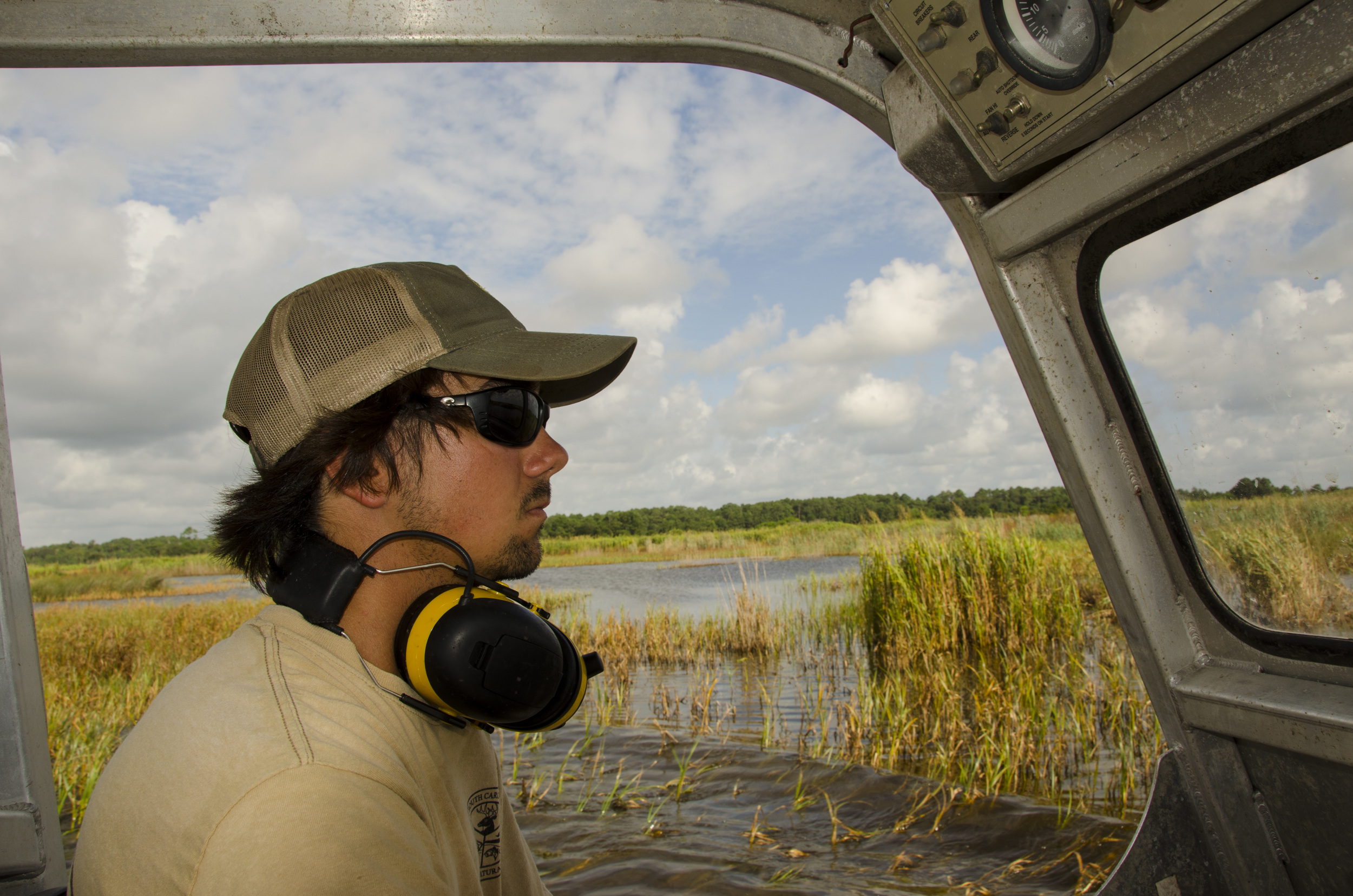 At just 22, and one year after graduating from Horry-Georgetown Technical College's Wildlife Management program, S.C. native Simeon Thornhill has already found the job that he hopes will be a lifetime career.