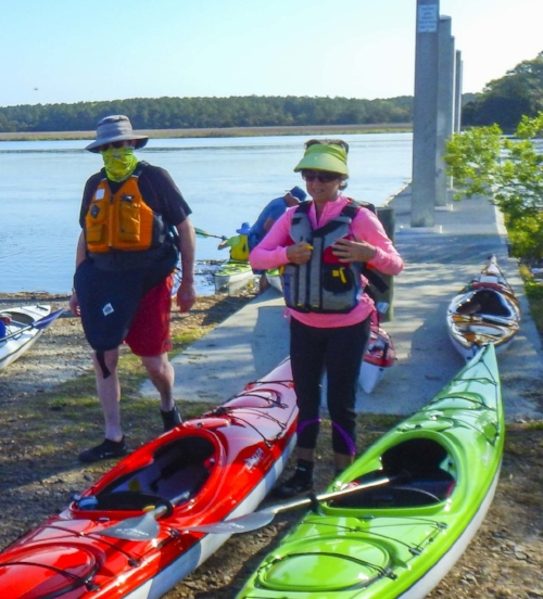 Life jackets and whistles are a necessity on the water. And while that neck gaiter might make you look like John Dillinger or the invisible man, you'll be glad to have it when the non-see-ums are out in force.