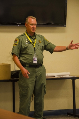 "During the new officer's training period, they report to SCDNR Training Supervisor, Lt. Russell ""Rusty"" Monnet, a thirty-year veteran of the agency. After today, they will report to the First Sergeant in their assigned county."