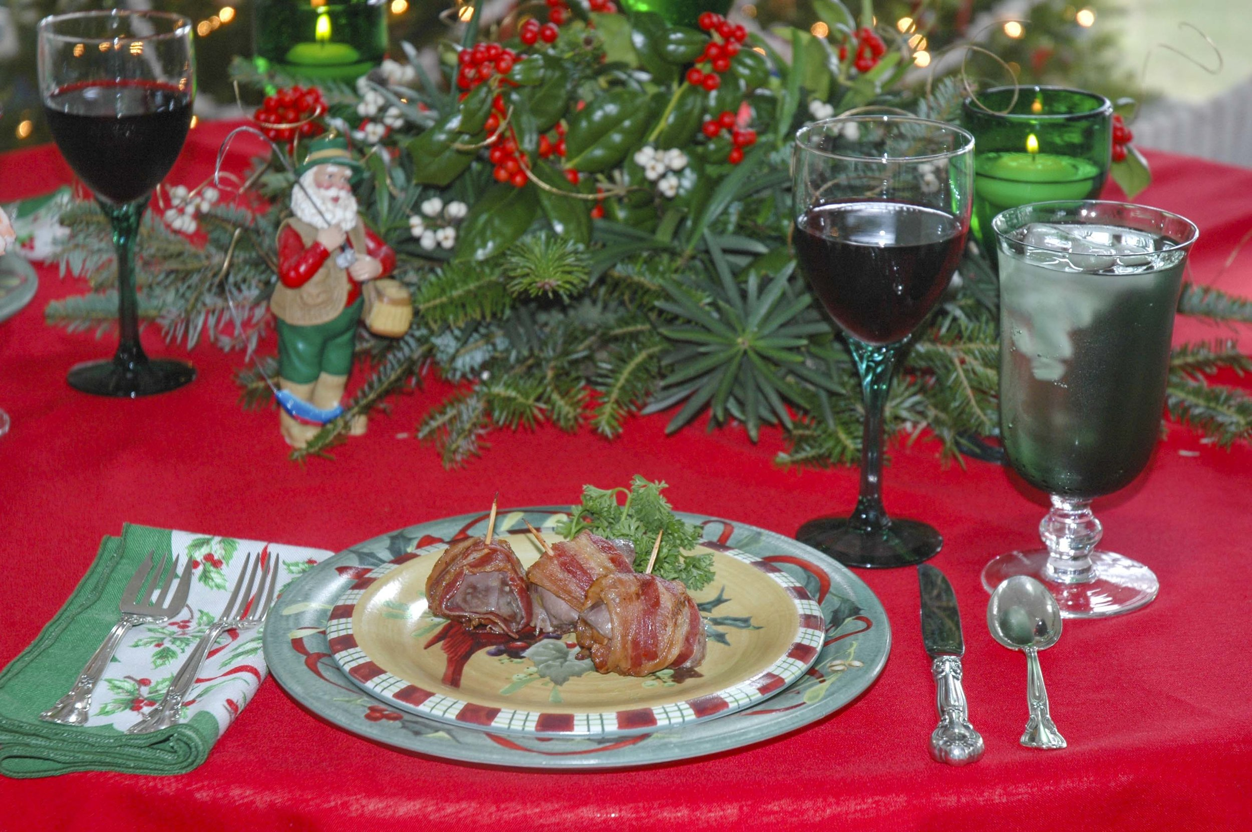 Dove breasts and other wild game from the freezer can make a wonderful part of a holiday meal . . . if you can wait that long! photo by Phillip Jones