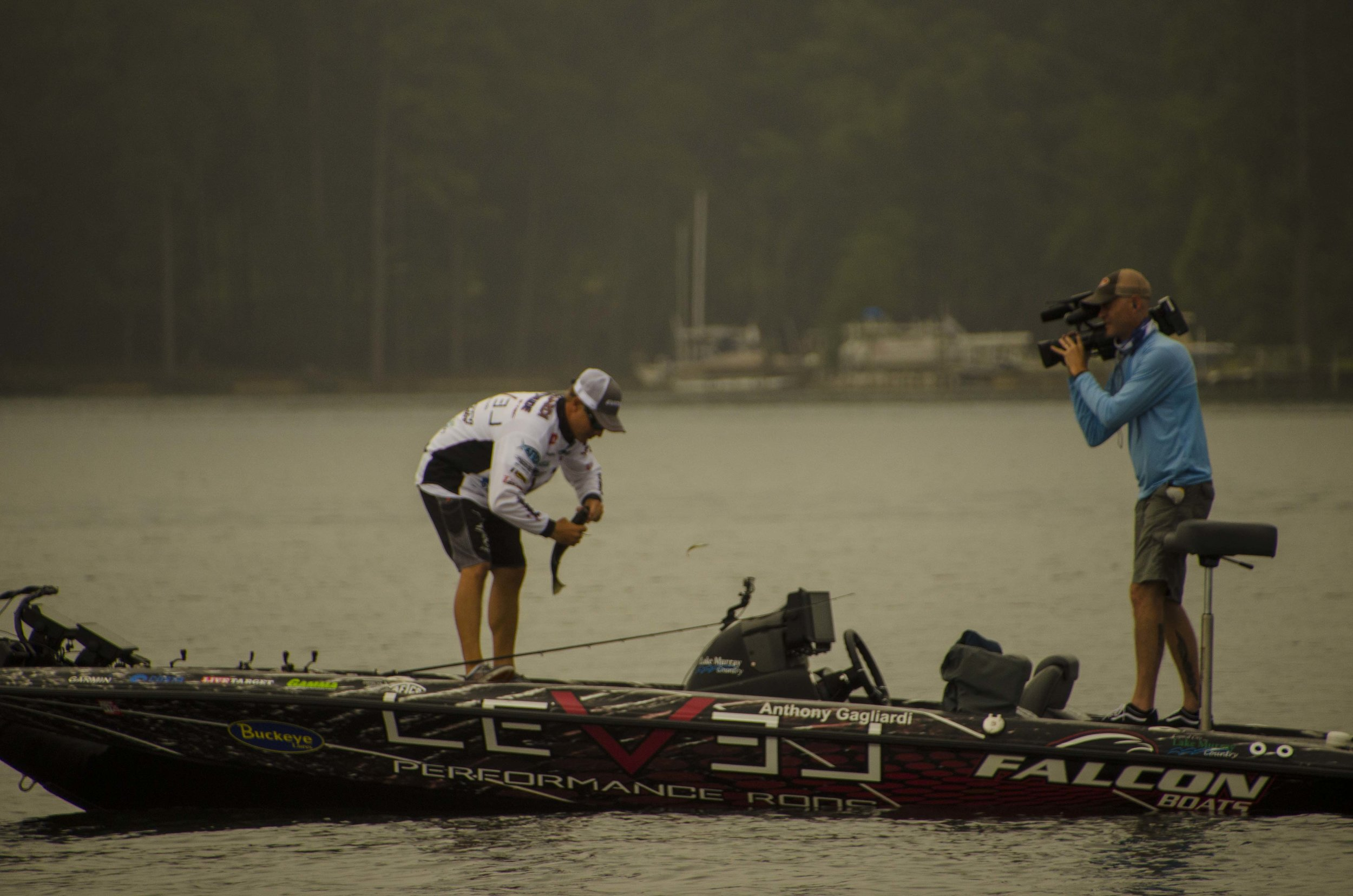 Adding an angler of Gagliardi's stature to the Falcon Boats pro team is a huge marketing win for the Newberry-based company. When this former FLW Angler of the Year and FWC winner is competing in a tournament, there's a darn good chance a television camera will be close by.
