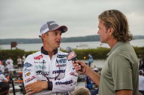 When Anthony Gagliardi speaks, his fans listen, and one thing this angler at the top of his game has been doing A LOT lately is singing the praises of his Palmetto State-built Falcon Boats custom bass-fishing rig.