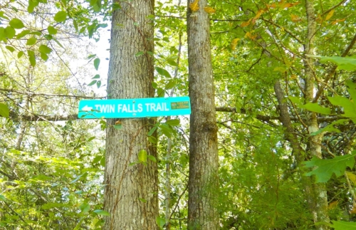 Look for this sign and a red metal gate at the trailhead on the right-hand side of Cleo Chapman Road, approximately half-a-mile from the intersection with Highway 178. SCDNR photo by David Lucas