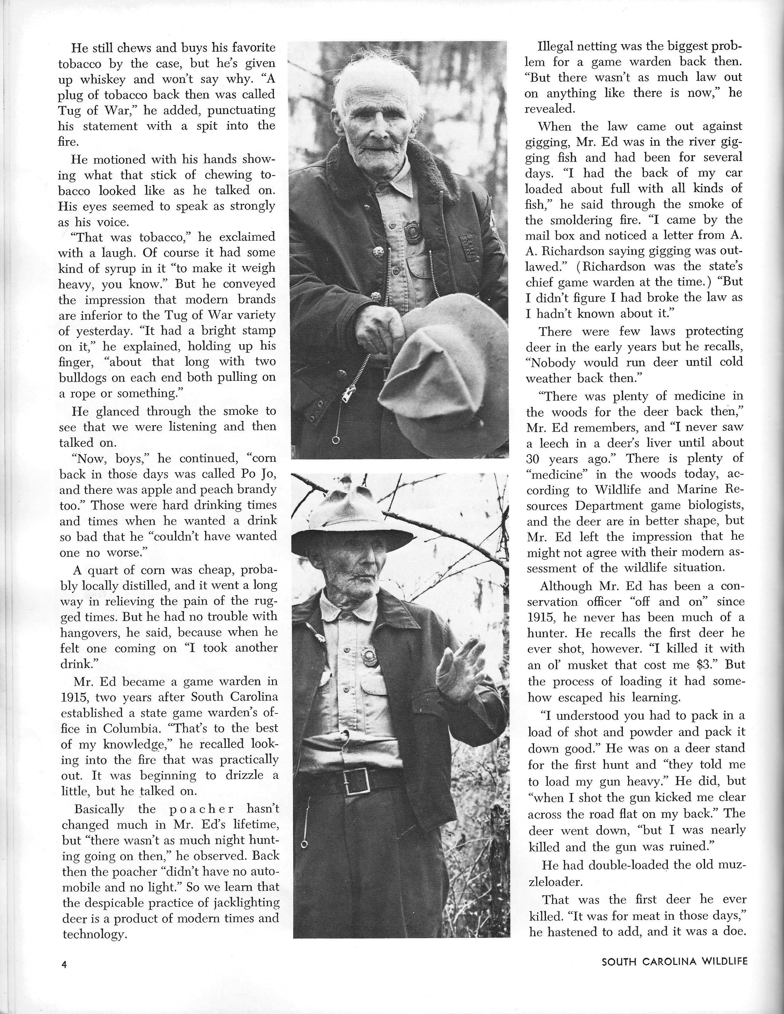 SCW magazine - January-February 1973 issue, page 3