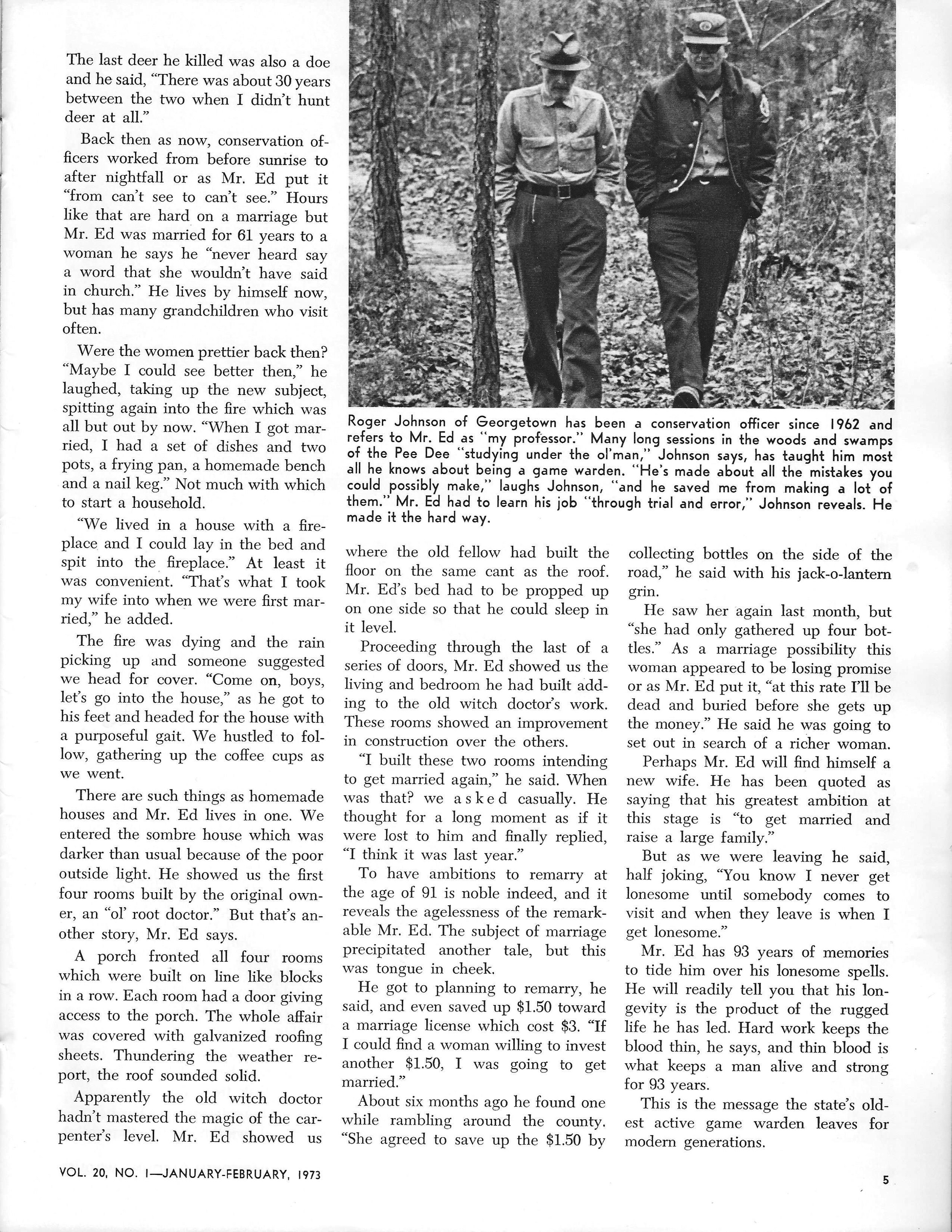 SCW magazine - January-February 1973 issue, page 4