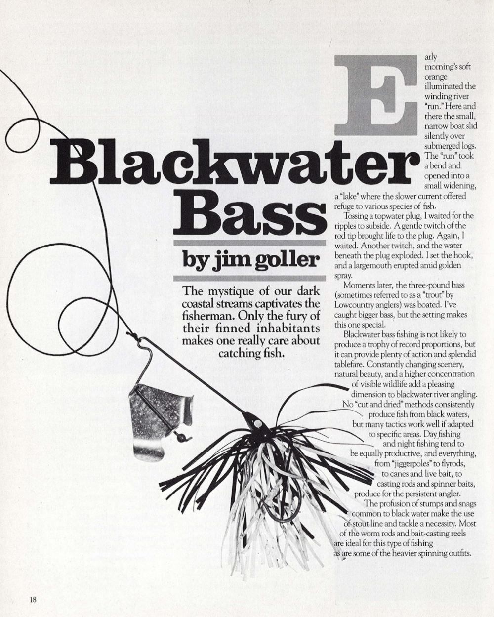 South Carolina Wildlife ,March-April 1982 -- page 18
