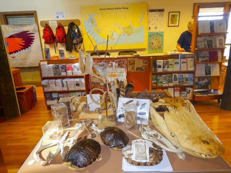 If you visit the SNWR, be sure and stop by the visitors center on the way -- where you can pick up maps and guides, fishing permits, and even borrow a couple of day packs if you need them.