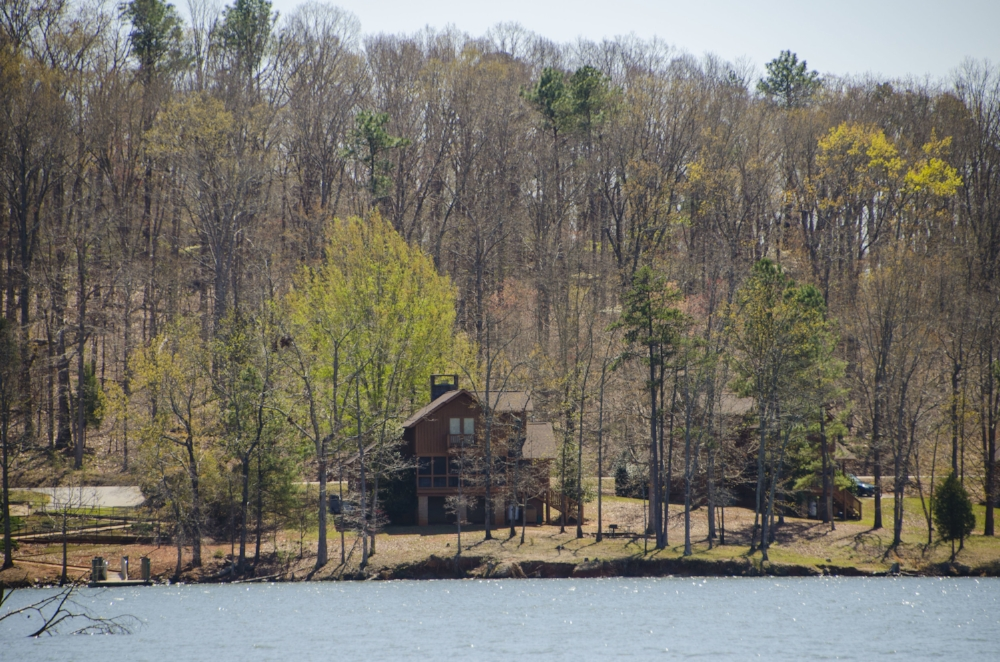 You'll find fantastic views and lots of water to explore at Lake Murray's Billy Dreher Island State Park.