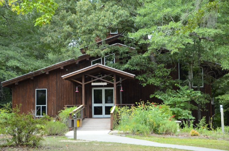 You'll want to start your day-trip at Lynches River County Park with a visit to their fantastic Environmental Discovery Center, where staff can help you with maps of the trails, suggestions for activities to do or kayak and canoe rentals if you want to get out on the water. [photo by David Lucas]