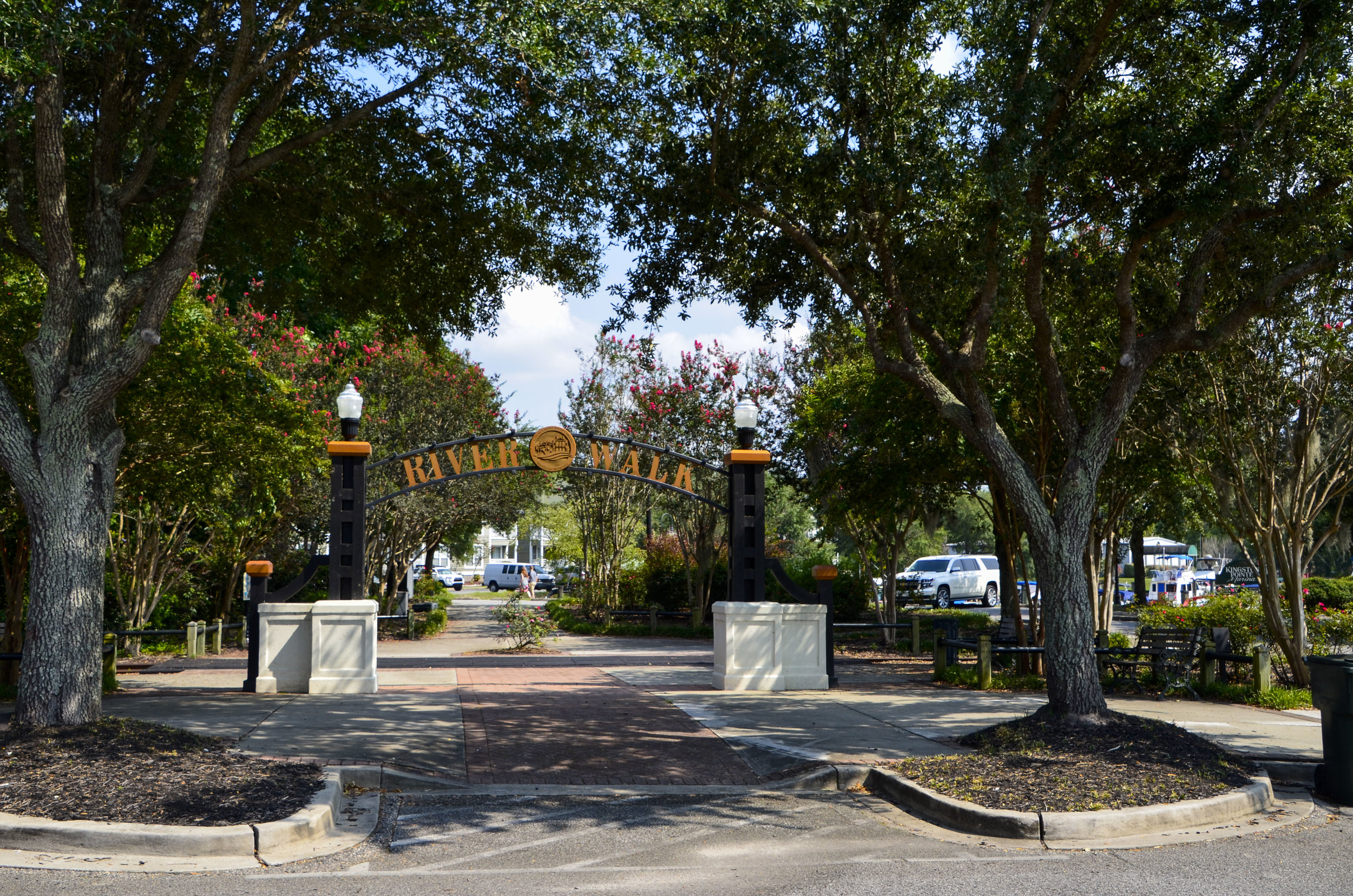 The Riverwalk in historic downtown Conway draws visitors and locals alike to experience the beauty of the Waccamaw.