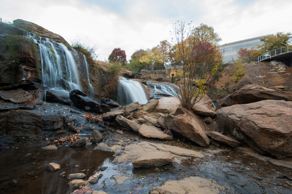 The Reedy River has been transformed over the course of the last three decades from an eyesore to a destination spot for residents of Greenville and the surrounding area.