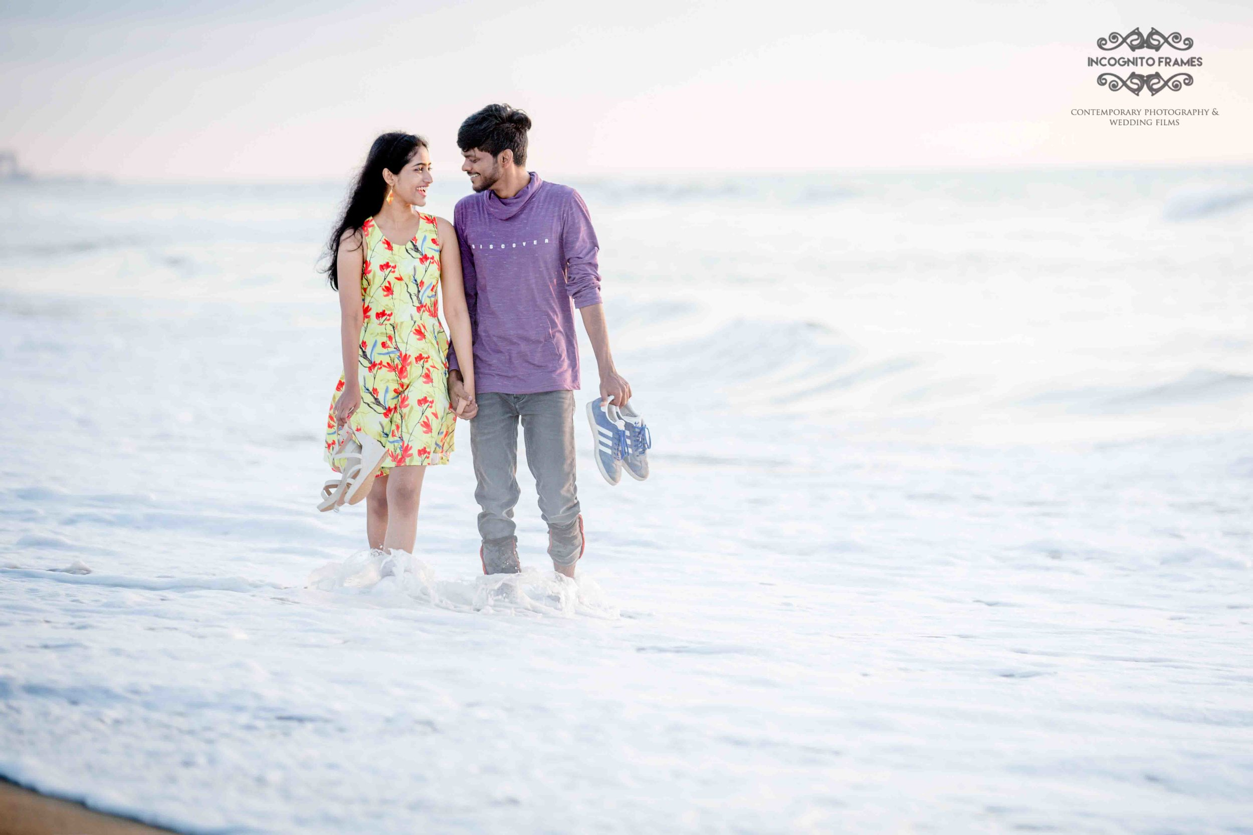 We have made couple do this over and over again and each time the results seems to be magical, our recent photo-shoot in Marina beach, April 2018