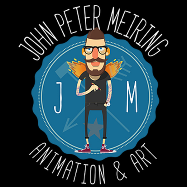 John Meiring    John Peter Meiring is a character designer and visual development artist based in Birmingham, UK.  John has worked on a variety of projects in the animation, video game and entertainment industries.  Some of his clients include: Treehouse Republic, Television Animation, Games Companies and many more. John loves anything with cheese, coffee, Downhill Mountain biking and his awesome dog and is currently drawing, creating and living, in Stourbridge, West midlands.