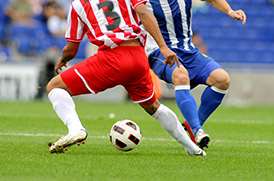 A clinical trial on football players with second degree ankle sprains found a significant reduction in swelling after Photobiomodulation Therapy