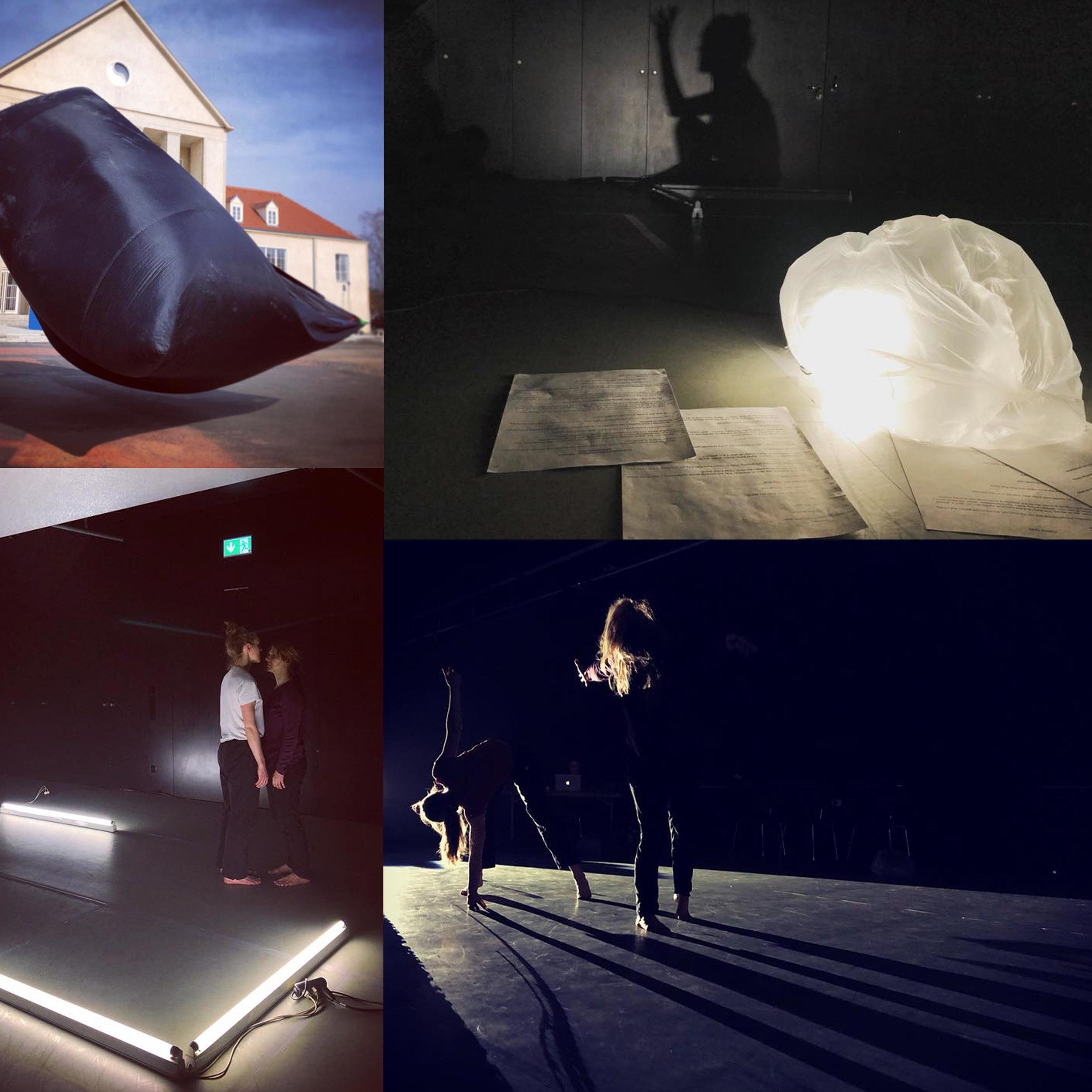 Susurrus in Hellerau-European Center for Contemporary Art, February 2018. Photos Kalle Ropponen.