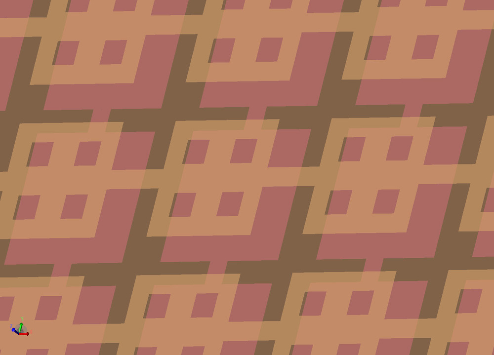 Four-square Pattern
