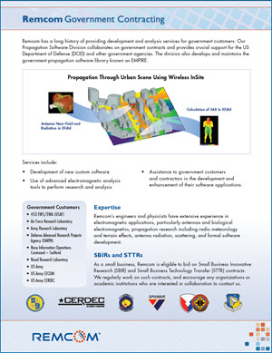 Government Contracting Brochure