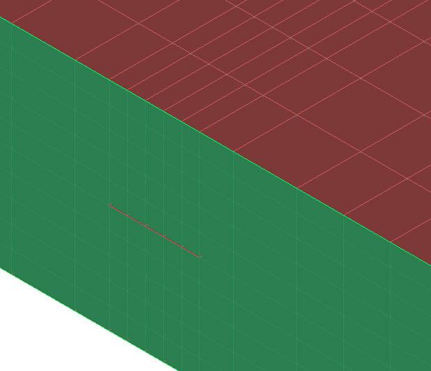 Fig. 4: Remcom XFdtd 3D stripline grid