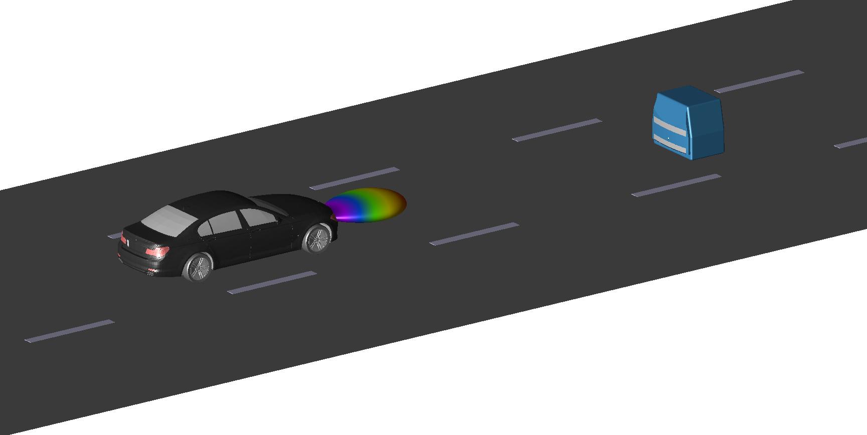 Euro NCAP vehicle target.
