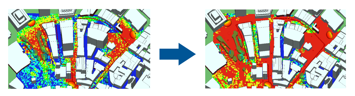 Simulating MIMO in Urban Environment - 5G Urban Small-Cell Analysis