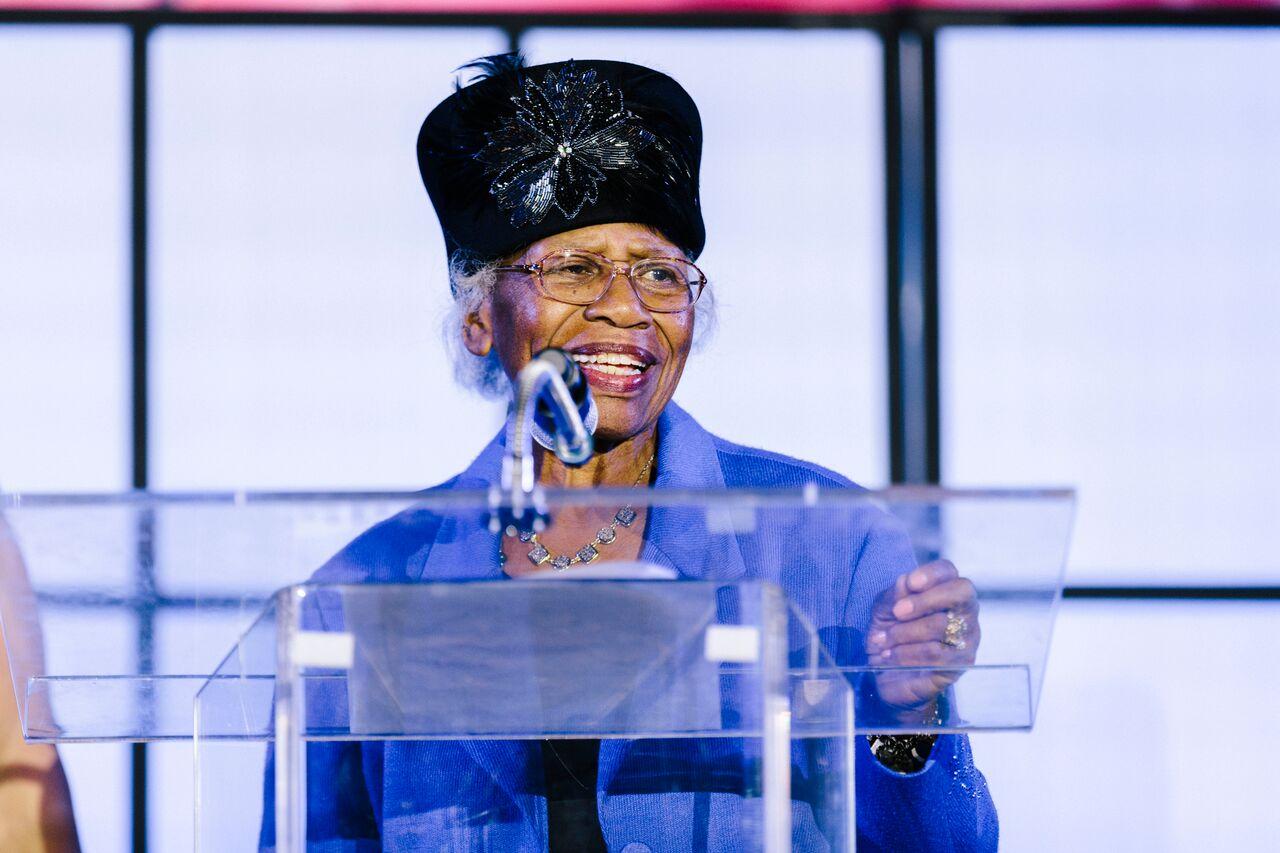 Mrs. Willie Mae Gaston was honored as an ECN Eastside Legend